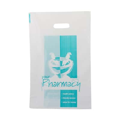 Pharmacy Plastic Carry Bag